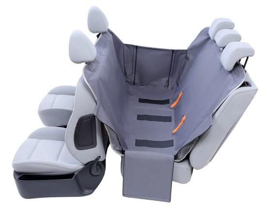 Kardiff Anti Slip mata samochodowa na tylne fotele z bokami S popielata-2