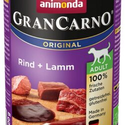 Animonda GranCarno Adult Rind Lamm Wołowina + Jagnięcina puszka 400g-1