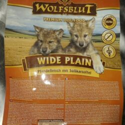 Wolfsblut Dog Wide Plain Puppy konina i bataty 2kg-1