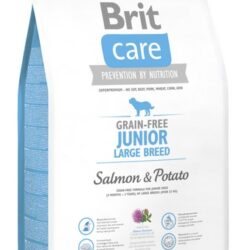 Brit Care Grain Free Junior Large Salmon & Potato 3kg-1