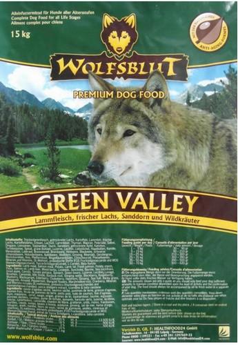 Wolfsblut Dog Green Valley jagnię, łosoś i ziemniaki 15kg-2