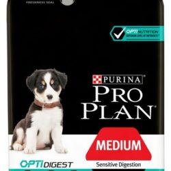 Purina Pro Plan Puppy Medium Sensitive Digestion OptiDigest 3kg-1