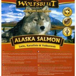 Wolfsblut Dog Alaska Salmon - łosoś i ryż 15kg-1