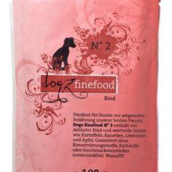 Dogz Finefood N.02 Wołowina saszetka 100g-1