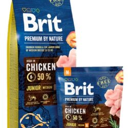 Brit Premium By Nature Junior M Medium 1kg-1