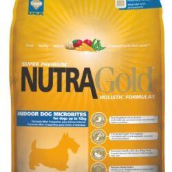 Nutra Gold Holistic Indoor Adult Dog Microbites 7,5kg-1