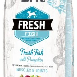 Brit Fresh Dog Adult Large Fish & Pumpkin 12kg-1