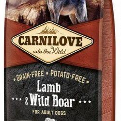 Carnilove Dog Lamb & Wild Boar Adult - jagnię i dzik 12kg-1