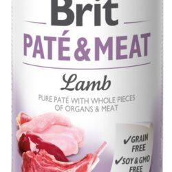 Brit Pate & Meat Dog Lamb puszka 400g-1