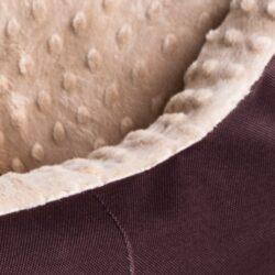 Bimbay Pokrowiec do kanapy Minky r.4 - 125x90cm brąz-beż-1