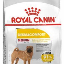 Royal Canin Medium Dermacomfort karma sucha dla psów dorosłych, ras średnich o wrażliwej skórze 10kg-1