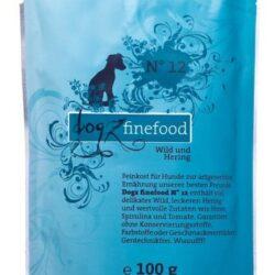 Dogz Finefood N.12 Dziczyzna i śledź saszetka 100g-1