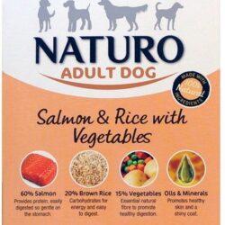 Naturo Adult Łosoś z ryżem i warzywami 150g-1