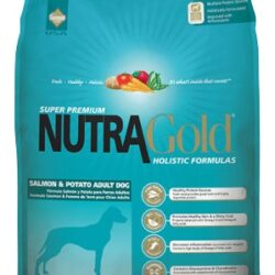Nutra Gold Holistic Salmon & Potato Adult Dog 3kg-1