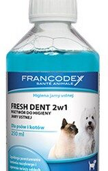 Francodex Fresh Dent płyn do higieny jamy ustnej 250ml [FR179120]-1