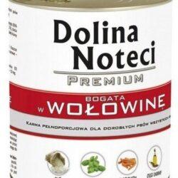 Dolina Noteci Premium Pies Wołowina puszka 400g-1