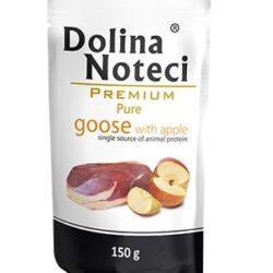 Dolina Noteci Premium Pies Pure Gęś i jabłko saszetka 150g-1