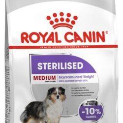Royal Canin Medium Sterilised karma sucha dla psów dorosłych, ras średnich, sterylizowanych 10kg-1