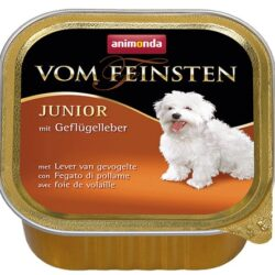 Animonda vom Feinsten Dog Junior Wątróbka drobiowa 150g-1
