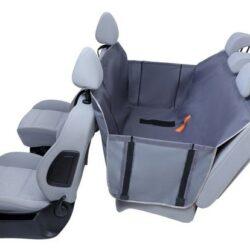 Kardiff Anti Slip mata samochodowa na tylne fotele z zamkiem i bokami M popielata-1