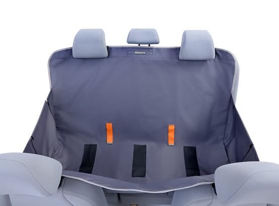 Kardiff Anti Slip mata samochodowa na tylne fotele z bokami S popielata-3