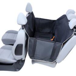 Kardiff Anti Slip mata samochodowa na tylne fotele z bokami S czarna-1