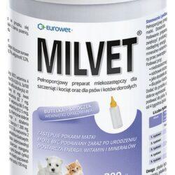 Milvet Preparat mlekozastępczy dla szczeniąt i kociąt 300g-1