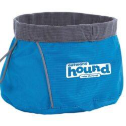 Outward Hound Miska podróżna niebieska 1400ml [23002]-1
