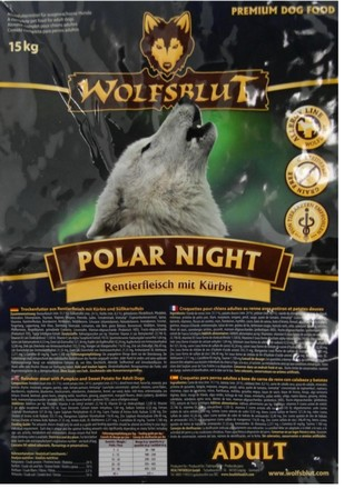 Wolfsblut Dog Polar Night renifer i dynia 15kg-2