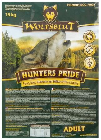 Wolfsblut Dog Hunters Pride - bażant i kaczka 15kg-2