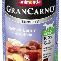 Animonda GranCarno Sensitiv Jagnięcina + ziemniaki puszka 400g-1