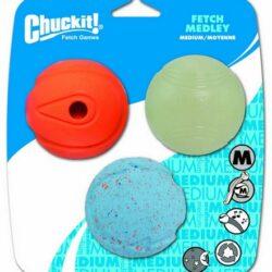 Chuckit! Fetch Medley Medium 3pak [520520]-1