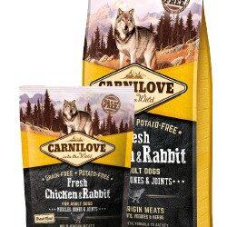 Carnilove Dog Fresh Chicken & Rabbit Adult - kurczak i królik 1,5kg-1
