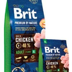 Brit Premium By Nature Adult XL Extra Large 15kg-1