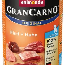 Animonda GranCarno Junior Rind Huhn Wołowina + Kurczak puszka 400g-1