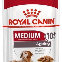 Royal Canin Medium Ageing 10+ karma mokra dla psów dojrzałych po 10 roku życia, ras średnich saszetka 140g-1