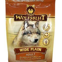 Wolfsblut Dog Wide Plain konina i bataty 500g-1