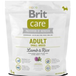 Brit Care New Adult Small Breed Lamb & Rice 1kg-1
