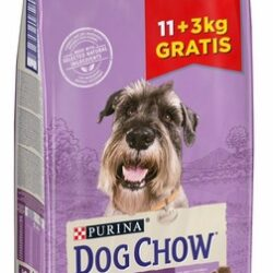 Purina Dog Chow Senior Jagnięcina 14kg (11+3kg gratis)-1