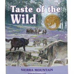Taste of the Wild Sierra Mountain Canine z mięsem z jagnięciną 12,2kg-1