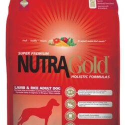 Nutra Gold Holistic Lamb & Rice Adult Dog 15kg-1