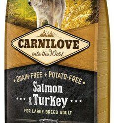 Carnilove Dog Salmon & Turkey Large Adult - łosoś i indyk 12kg-1