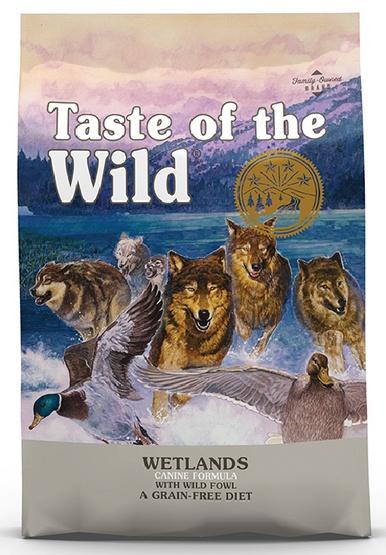 Taste of the Wild Wetlands Canine z mięsem z dzikiego ptactwa 12,2kg-1