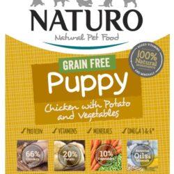 Naturo Puppy Kurczak z ziemniakami i warzywami 150g-1