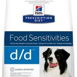 Hill's Prescription Diet d/d Łosoś i Ryż Canine 12kg-1