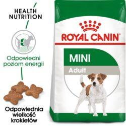 Royal Canin Mini Adult karma sucha dla psów dorosłych, ras małych 9kg (8+1kg)-1