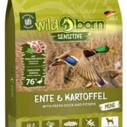 Wildborn Sensitive Ente & Kartoffel Adult Mini 15kg-1