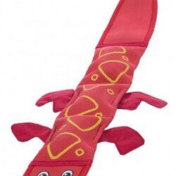 Outward Hound Fire Biterz Szarpak Jaszczurka czerwona - 3 piszczałki [30011]-1