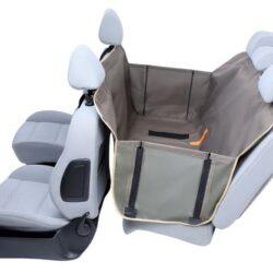 Kardiff Anti Slip mata samochodowa na tylne fotele z bokami S oliwkowa-1